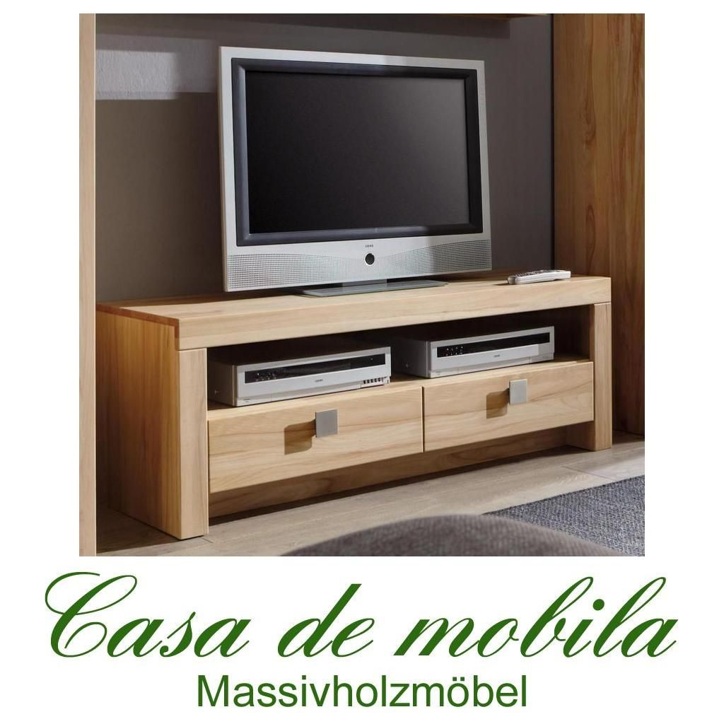 Massivholz TV-Lowboard TV-Kommode