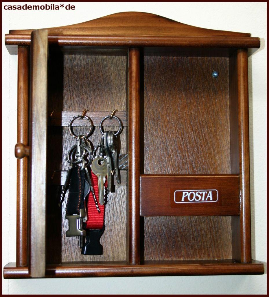 Schlüsselkasten 764 Decor - Pappel massiv kolonial