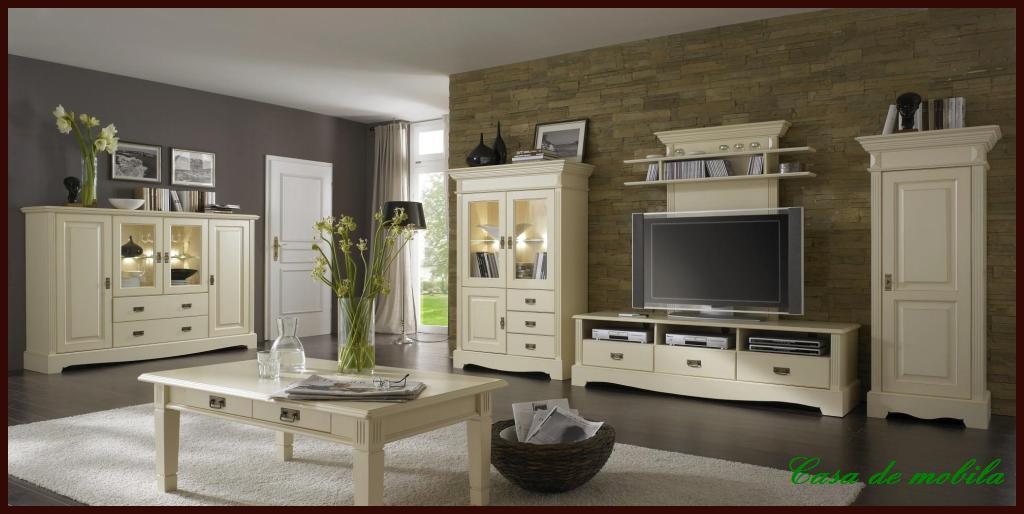 landhaus vitrine schmal und niedrig mit schubladen champagner lackiert paris kiefer massiv. Black Bedroom Furniture Sets. Home Design Ideas
