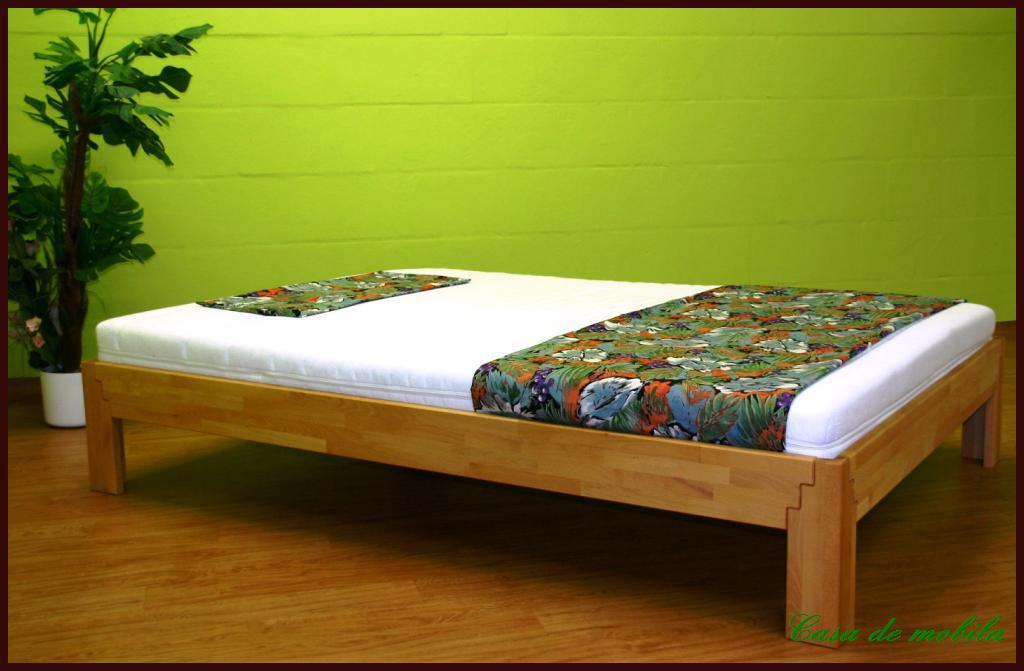 echtholz doppelbett jugendbett 140x200 z buche massiv geölt, Hause deko