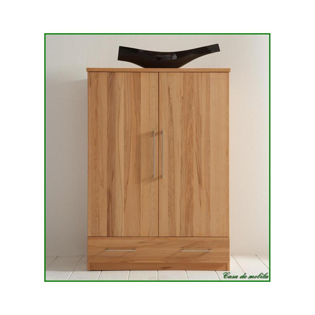 Naturholz Schlafzimmer schrank Wäscheschrank holz Kernbuche Palermo