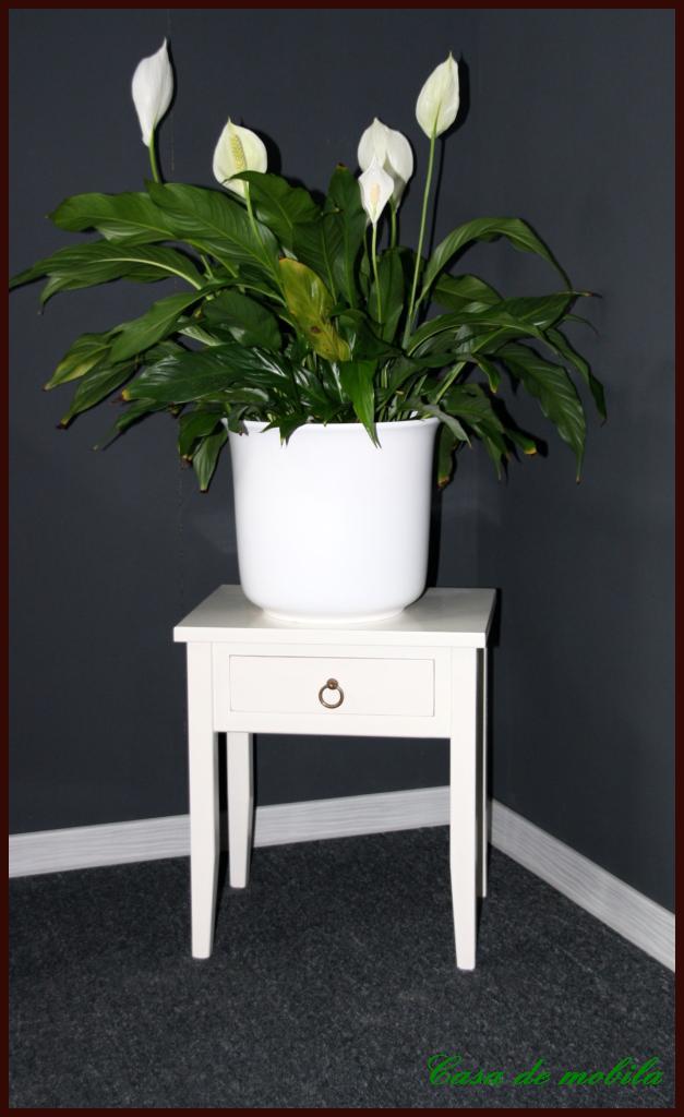 beistelltische lampentische weiss lackiert bei casa in goslar. Black Bedroom Furniture Sets. Home Design Ideas