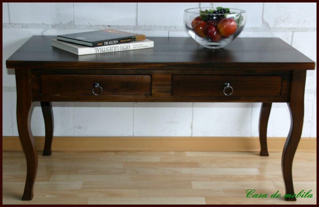 couchtisch wohnzimmertisch wenge braun nussbaum kolonialstil holz massiv. Black Bedroom Furniture Sets. Home Design Ideas