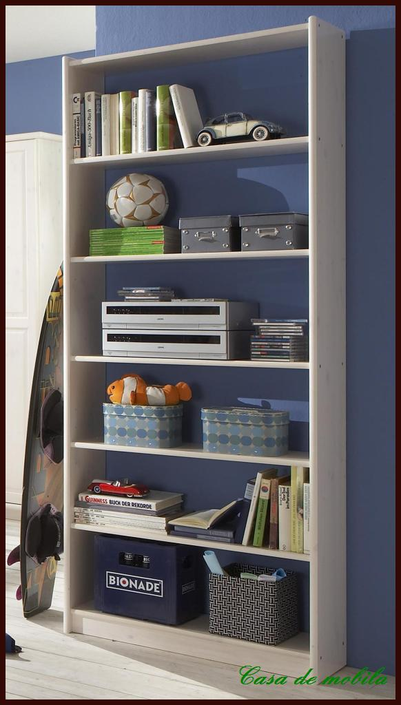 vollholz regal regale b cherregale wei 84x205 hoch holz. Black Bedroom Furniture Sets. Home Design Ideas