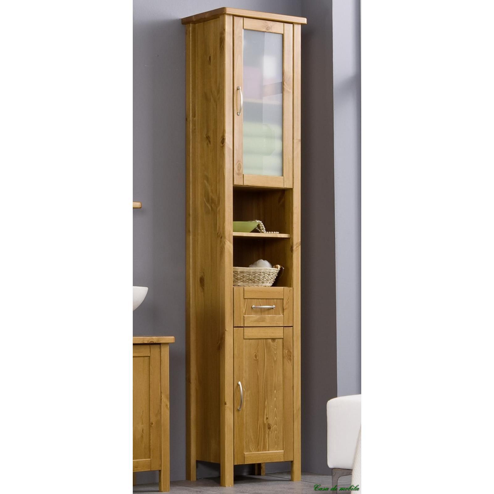 badezimmerschrank holz. Black Bedroom Furniture Sets. Home Design Ideas