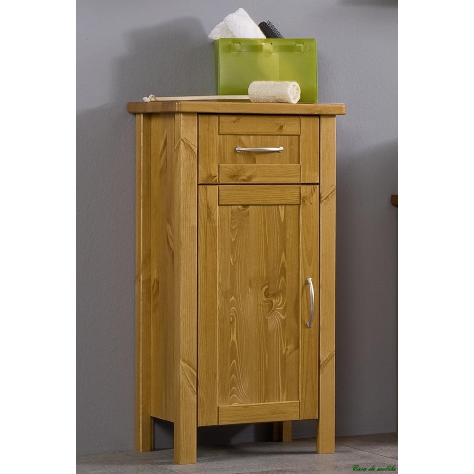 badkommode kommode badschrank holz kiefer massiv honig lackiert venedig. Black Bedroom Furniture Sets. Home Design Ideas