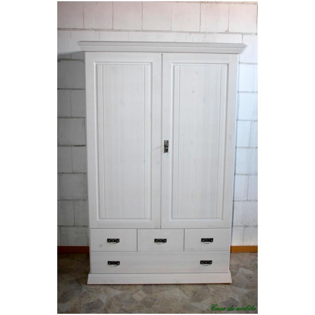 massivholz w scheschrank odette 2 t rig holz kiefer massiv weiss lasiert. Black Bedroom Furniture Sets. Home Design Ideas