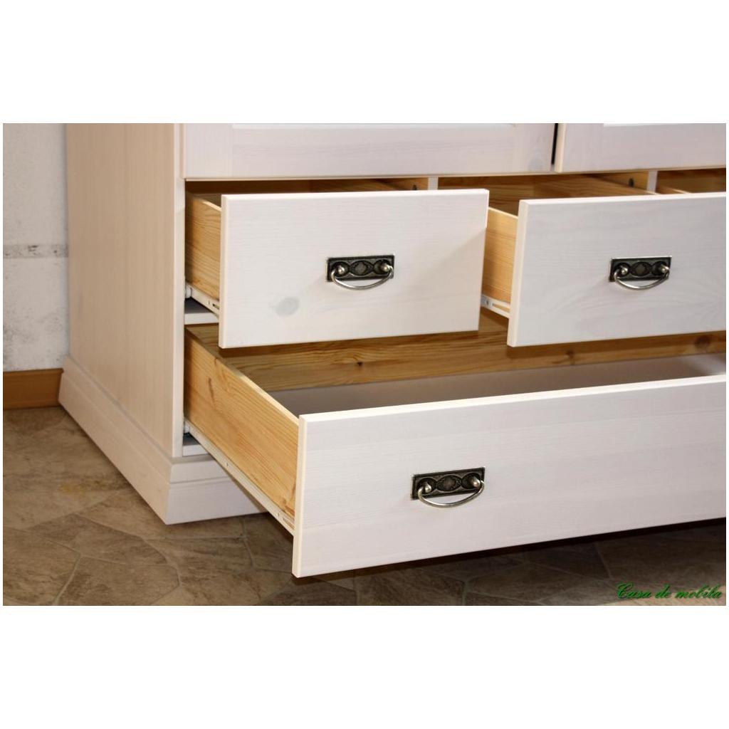 massivholz w scheschrank odette 2 t rig holz kiefer. Black Bedroom Furniture Sets. Home Design Ideas