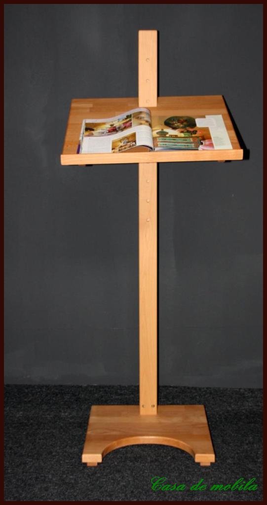 massivholz stehpult buche massiv ge lt. Black Bedroom Furniture Sets. Home Design Ideas