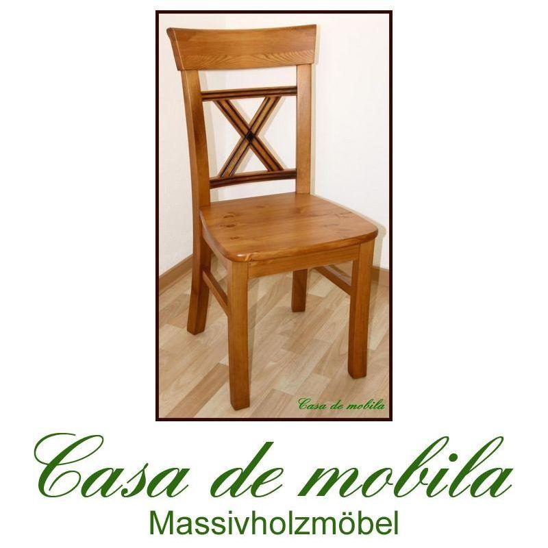 Landhaus Esszimmer Stühle : Landhaus Esszimmer Stühle Stuhl Kiefer ...