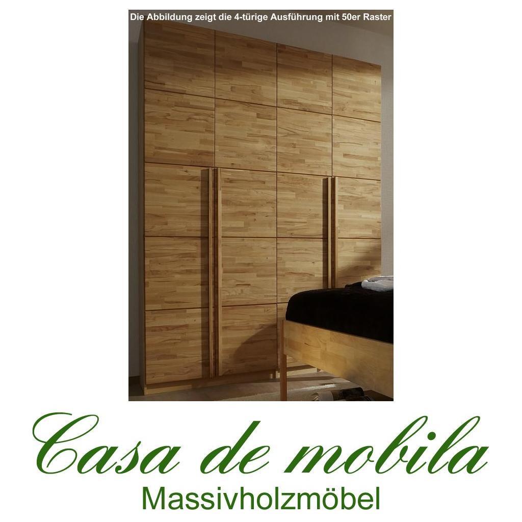 massivholz kleiderschrank kernbuche massiv natur ge lt front6 5 t rig. Black Bedroom Furniture Sets. Home Design Ideas