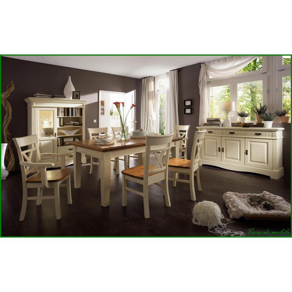 landhaus vitrinenschrank gro champagner lackiert paris kiefer massiv. Black Bedroom Furniture Sets. Home Design Ideas