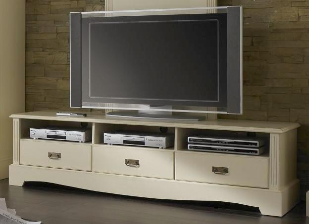 tv lowboard mit wandpaneel champagner lackiert paris. Black Bedroom Furniture Sets. Home Design Ideas