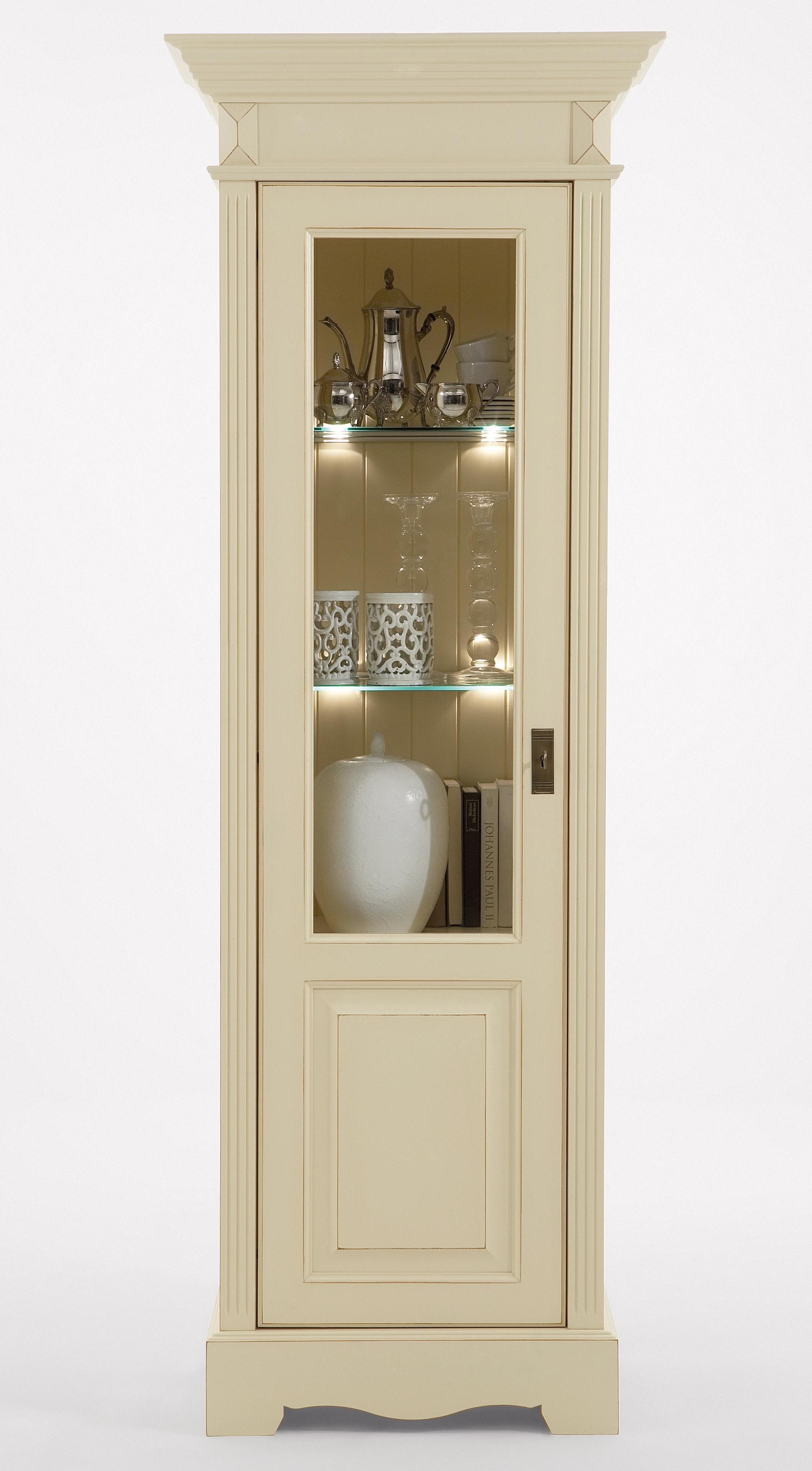 landhaus anbauwand kiefer paris vintage champagner. Black Bedroom Furniture Sets. Home Design Ideas