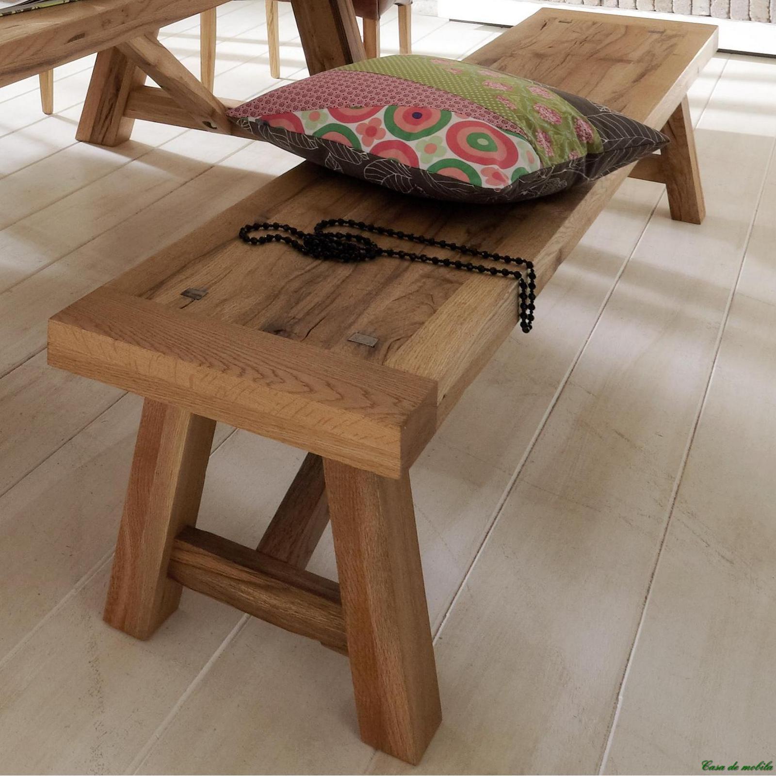 Holzbank Massiv ist perfekt design für ihr wohnideen