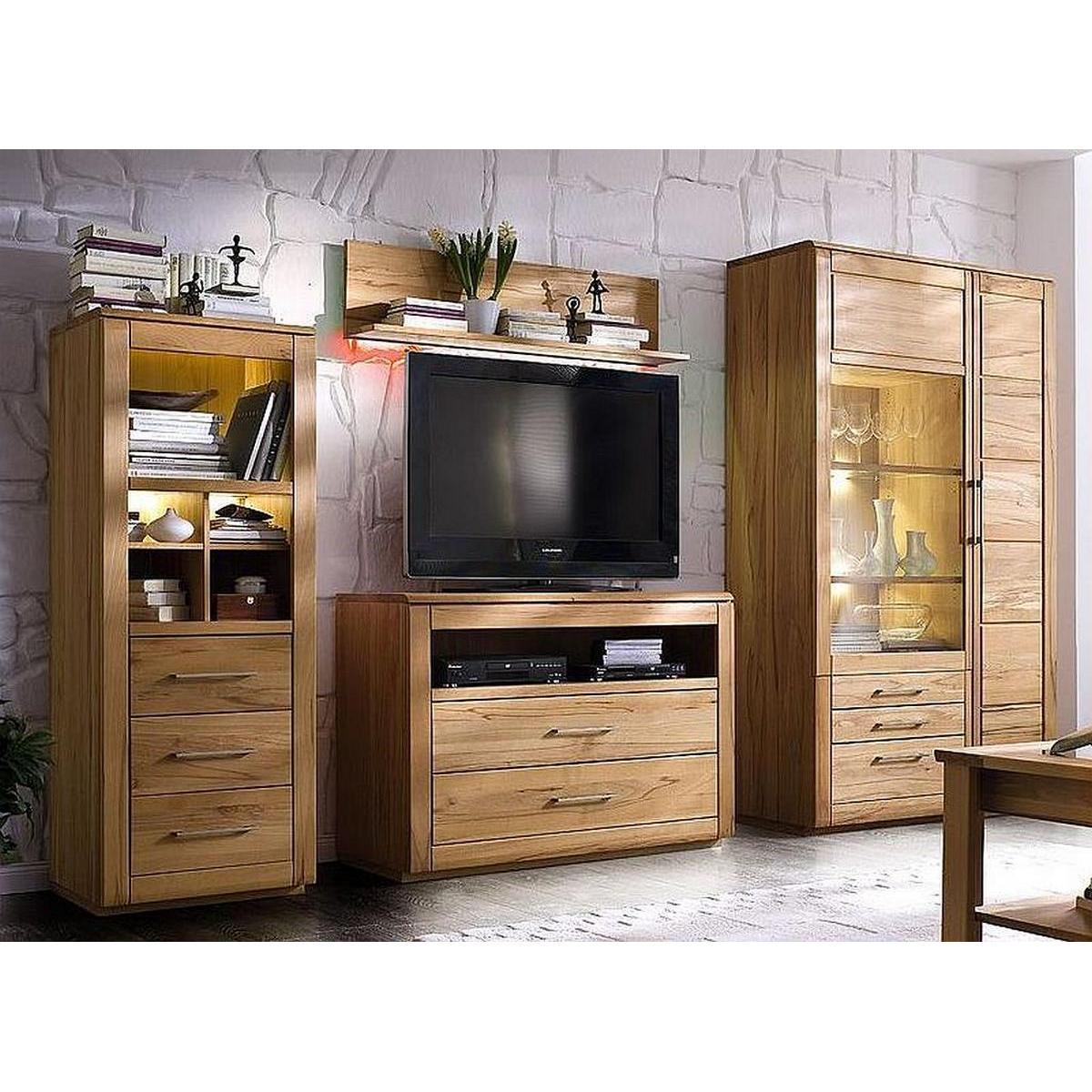 vollholz anbauwand kernbuche massiv bio ge lt 4 teilig oxford. Black Bedroom Furniture Sets. Home Design Ideas