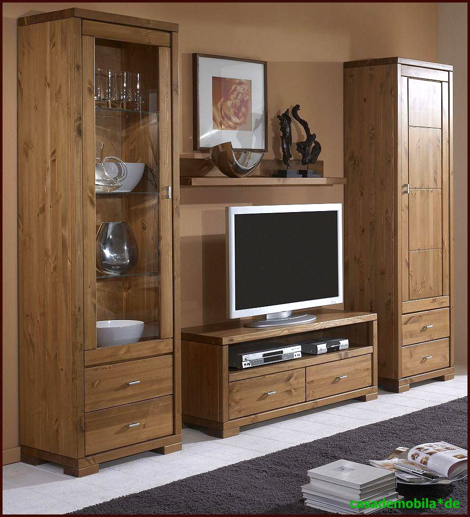 wohnzimmerm bel wohnwand holz kiefer massiv provance guldborg. Black Bedroom Furniture Sets. Home Design Ideas