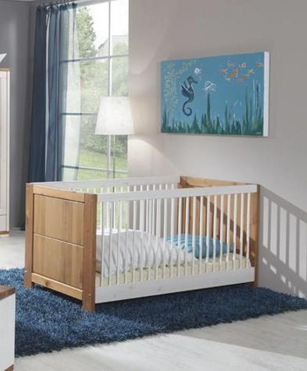massivholz kinderbett guldborg holz kiefer massiv 2. Black Bedroom Furniture Sets. Home Design Ideas