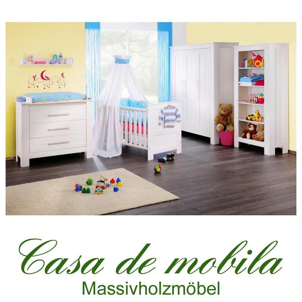 Babyzimmer Babymöbel weiss Emma aus Kiefernholz in Goslar
