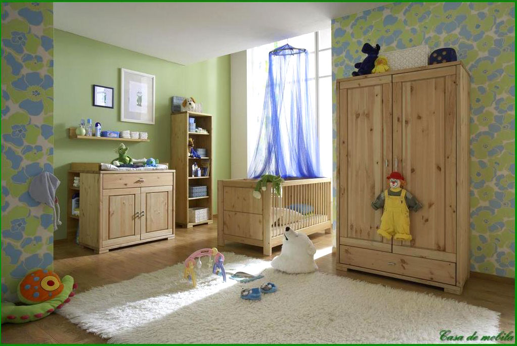 babym bel babyzimmer holz kiefer massiv gelaugt ge lt bei. Black Bedroom Furniture Sets. Home Design Ideas