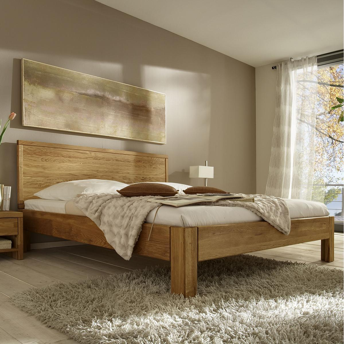 massivholz bett 160x200 xl easy sleep eiche massiv ge lt 9316 93 3. Black Bedroom Furniture Sets. Home Design Ideas