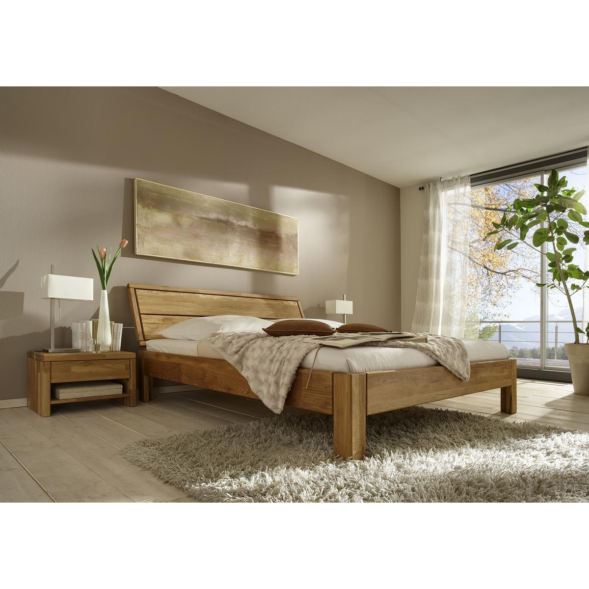 massivholz bett 140x200 easy sleep eiche massiv ge lt 9414 93 3. Black Bedroom Furniture Sets. Home Design Ideas