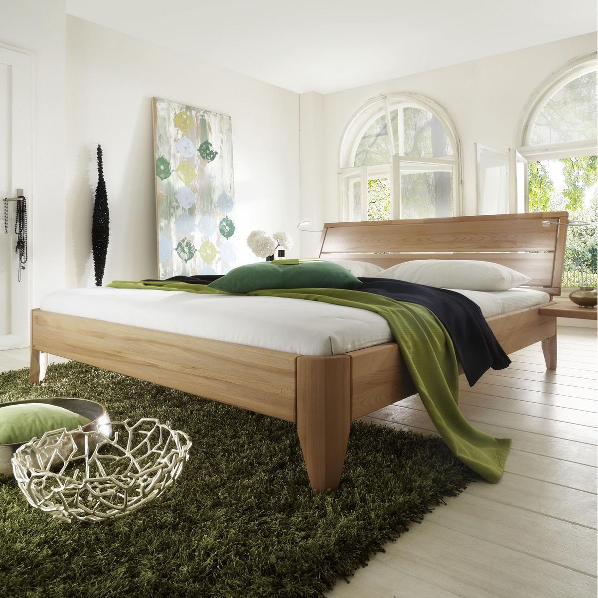 Massivholz bett 120x200 easy sleep kernbuche massiv ge lt for Einzelbett 120x200