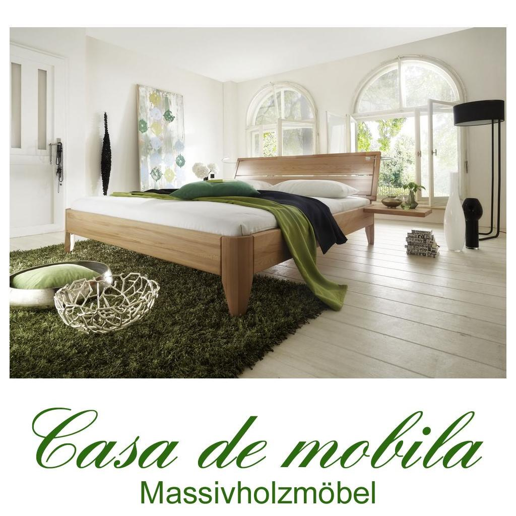 Massivholz Bett 120x200 Easy Sleep Kernbuche Massiv Geolt 9412 72 87