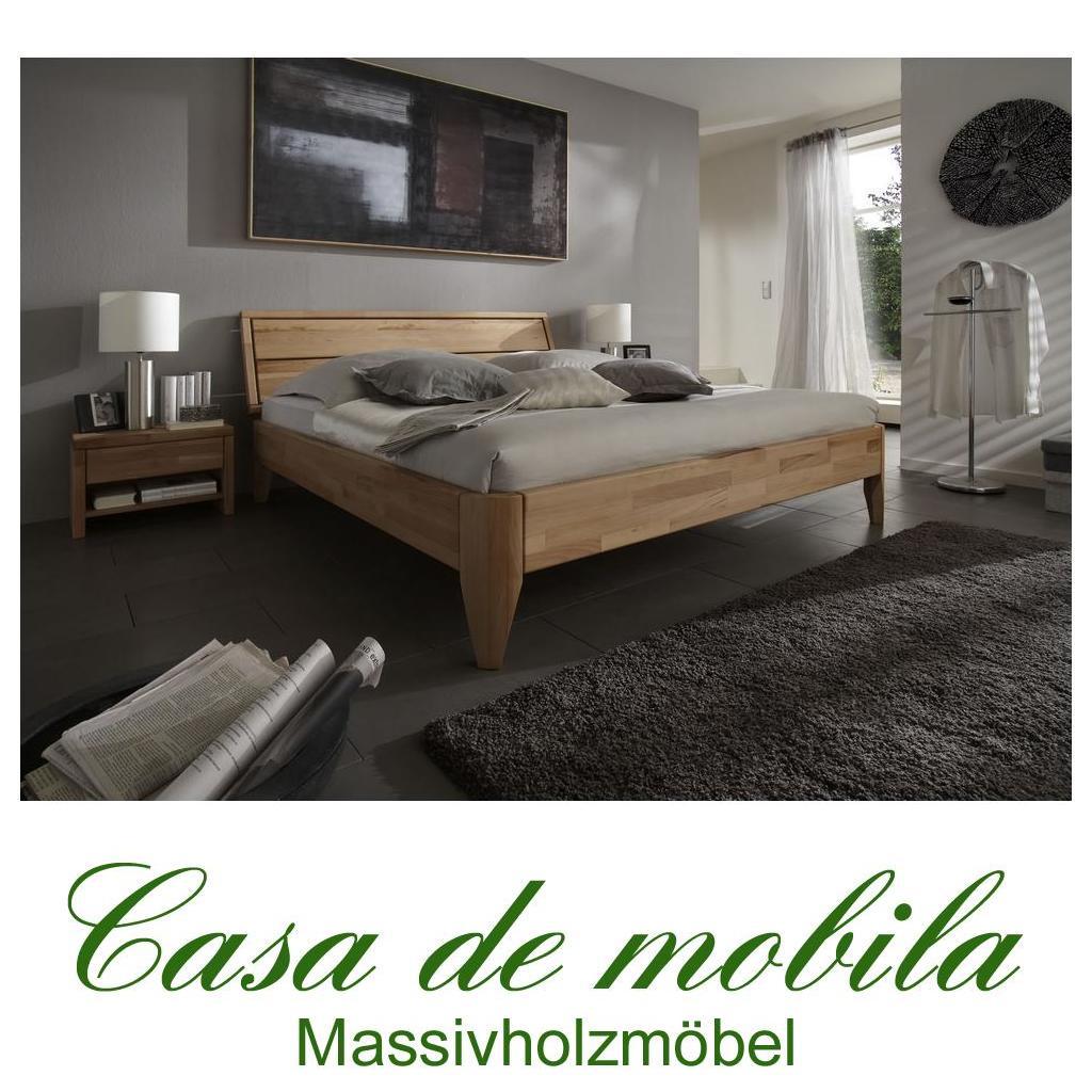 Massivholz Bett 120x200 Easy Sleep Kernbuche Massiv Geolt 9412 72 89
