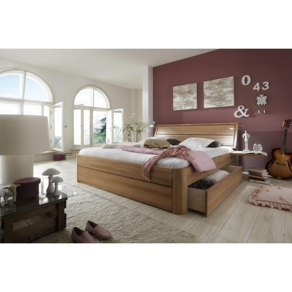 massivholz schubkastenbett 180x200 easy sleep kernbuche massiv ge lt 9418 73 52 87. Black Bedroom Furniture Sets. Home Design Ideas