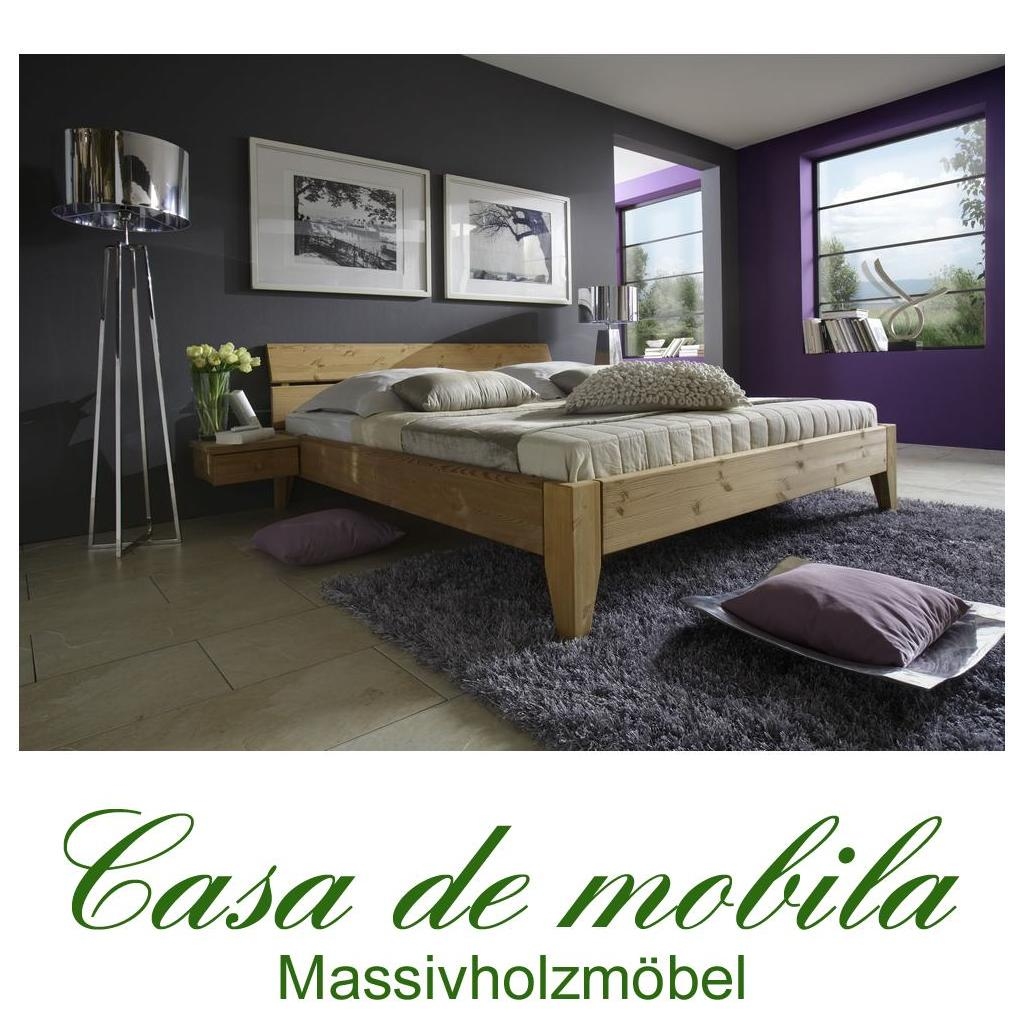massivholz bett 180x200 easy sleep kiefer massiv gelaugt geölt, Hause deko