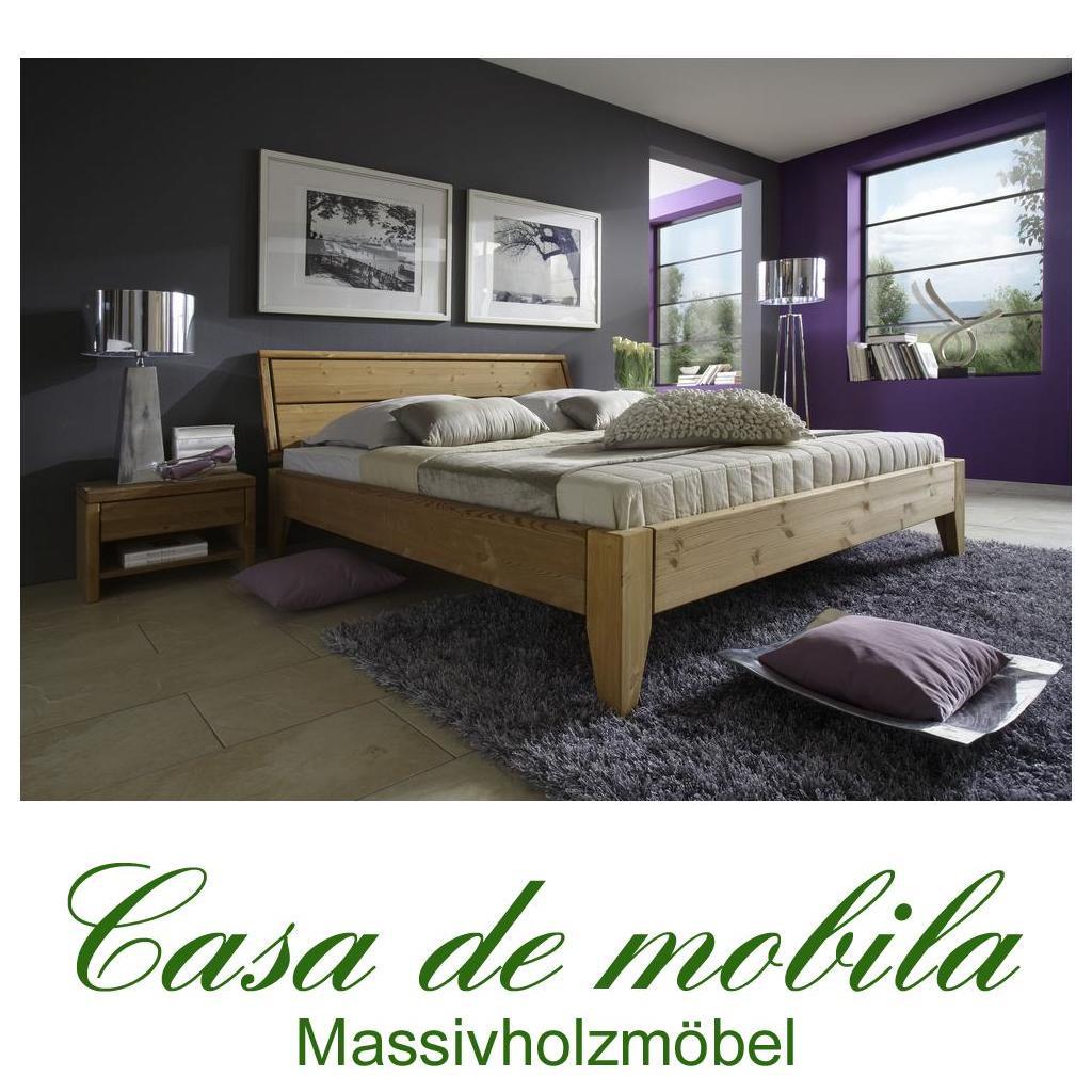 massivholz bett 180x200 easy sleep kiefer massiv gelaugt ge lt 9418 92 5. Black Bedroom Furniture Sets. Home Design Ideas