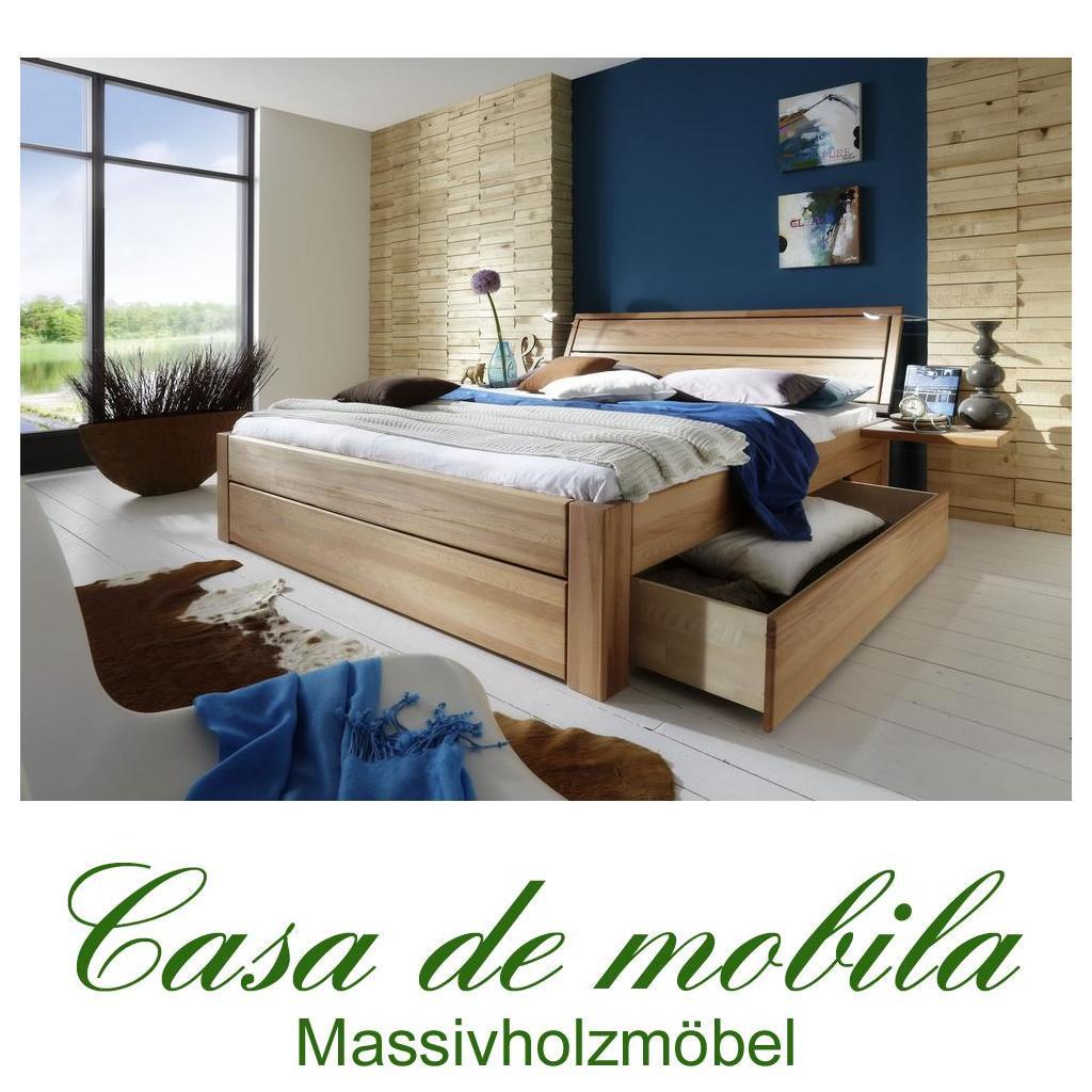 bett buche massiv 120x200, massivholz schubkastenbett 120x200 easy sleep kernbuche massiv geölt, Design ideen
