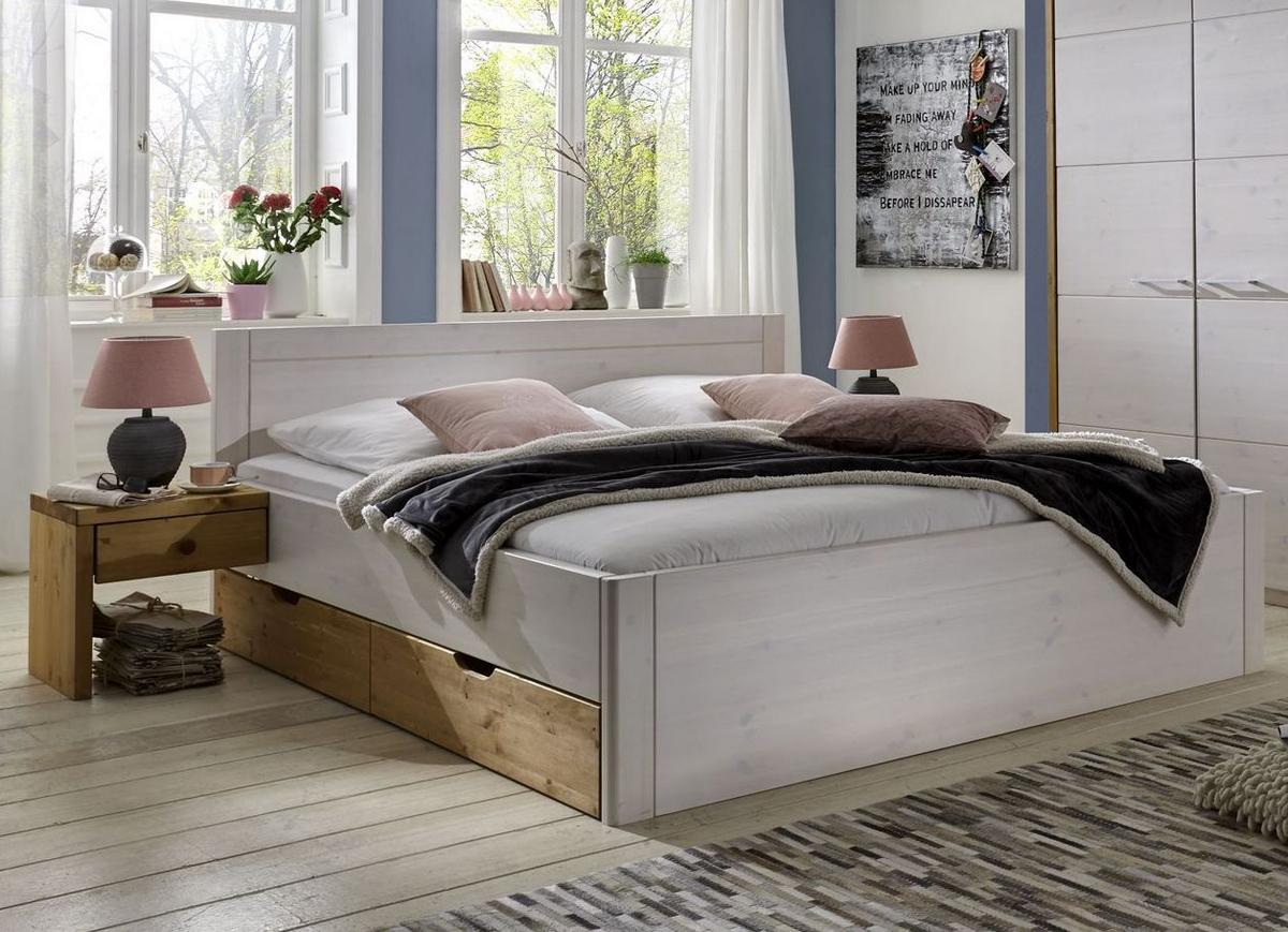 betten massivholz kiefer das beste aus wohndesign und m bel inspiration. Black Bedroom Furniture Sets. Home Design Ideas