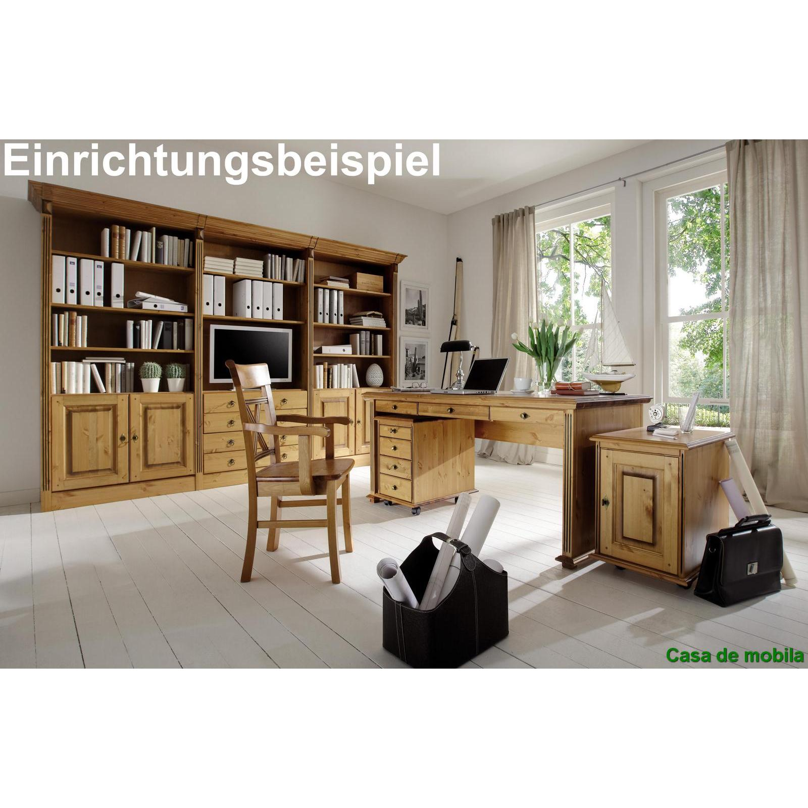 massivholz aktenschrank kiefer goldbraun patiniert. Black Bedroom Furniture Sets. Home Design Ideas