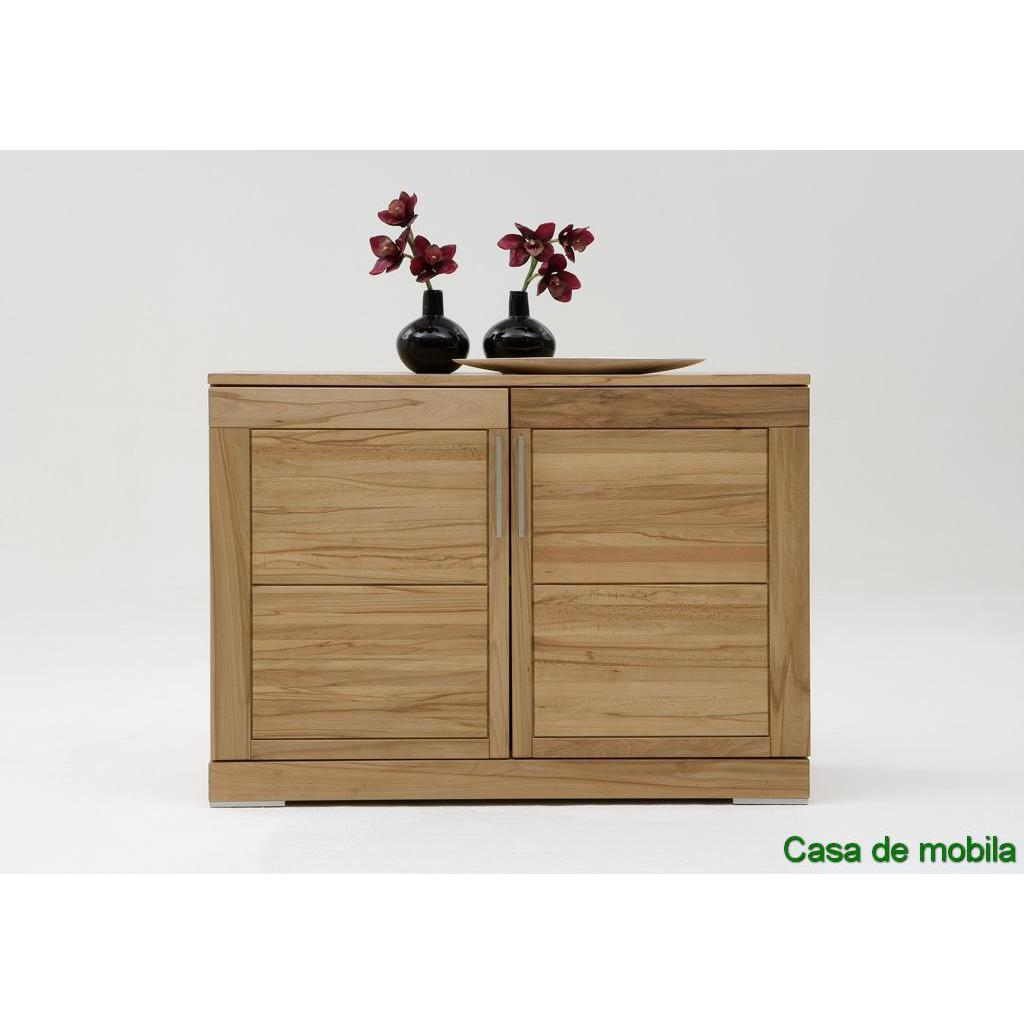 Massivholz kommode sideboard kernbuche massiv natur ge lt for Kommode massivholz