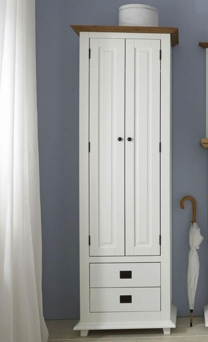 garderobenschrank flurschrank flurm bel wei wildeiche roxanne. Black Bedroom Furniture Sets. Home Design Ideas