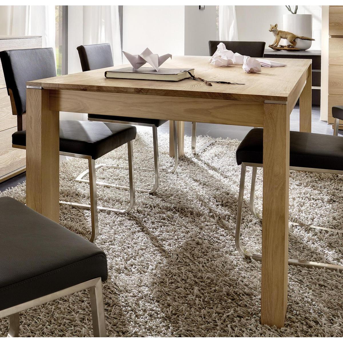 Perfekt ZOOM · Massivholz Esszimmer Komplett Asteiche Massiv Gebürstet Bianco ...