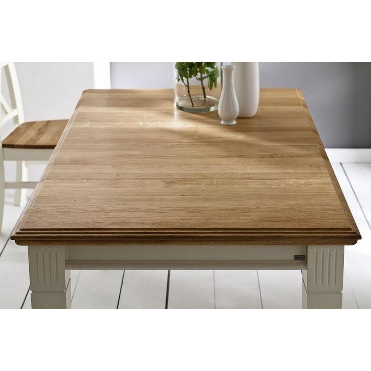 Anspruchsvoll Esstisch Ausziehbar Holz Sammlung Von Zoom · Massivholz 180/280x95 Kiefer Massiv