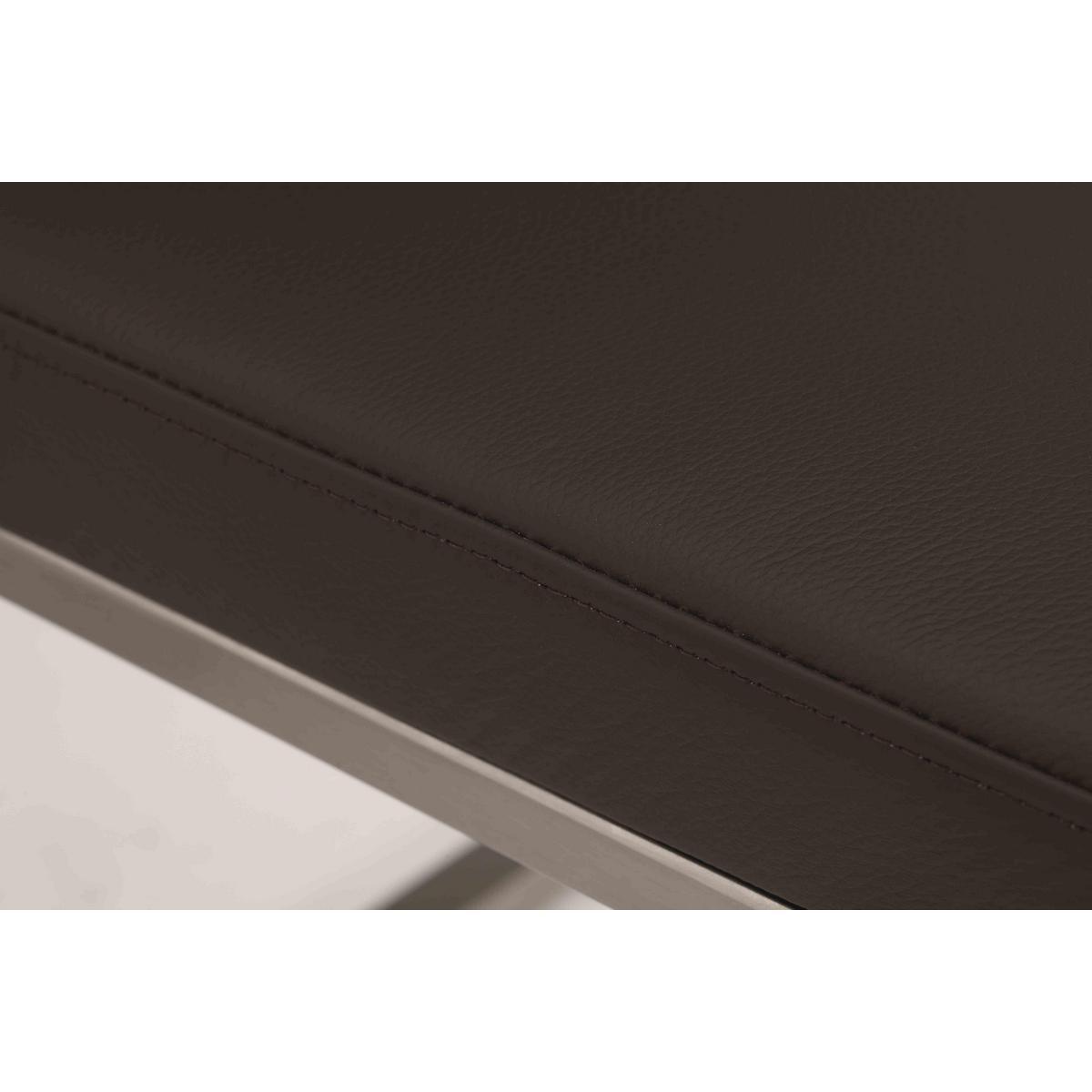 Wäschetruhe Holz Dunkelbraun ~   Stuhl Stühle Nickel und Asteiche massiv  SIRO ACERRO dunkelbraun