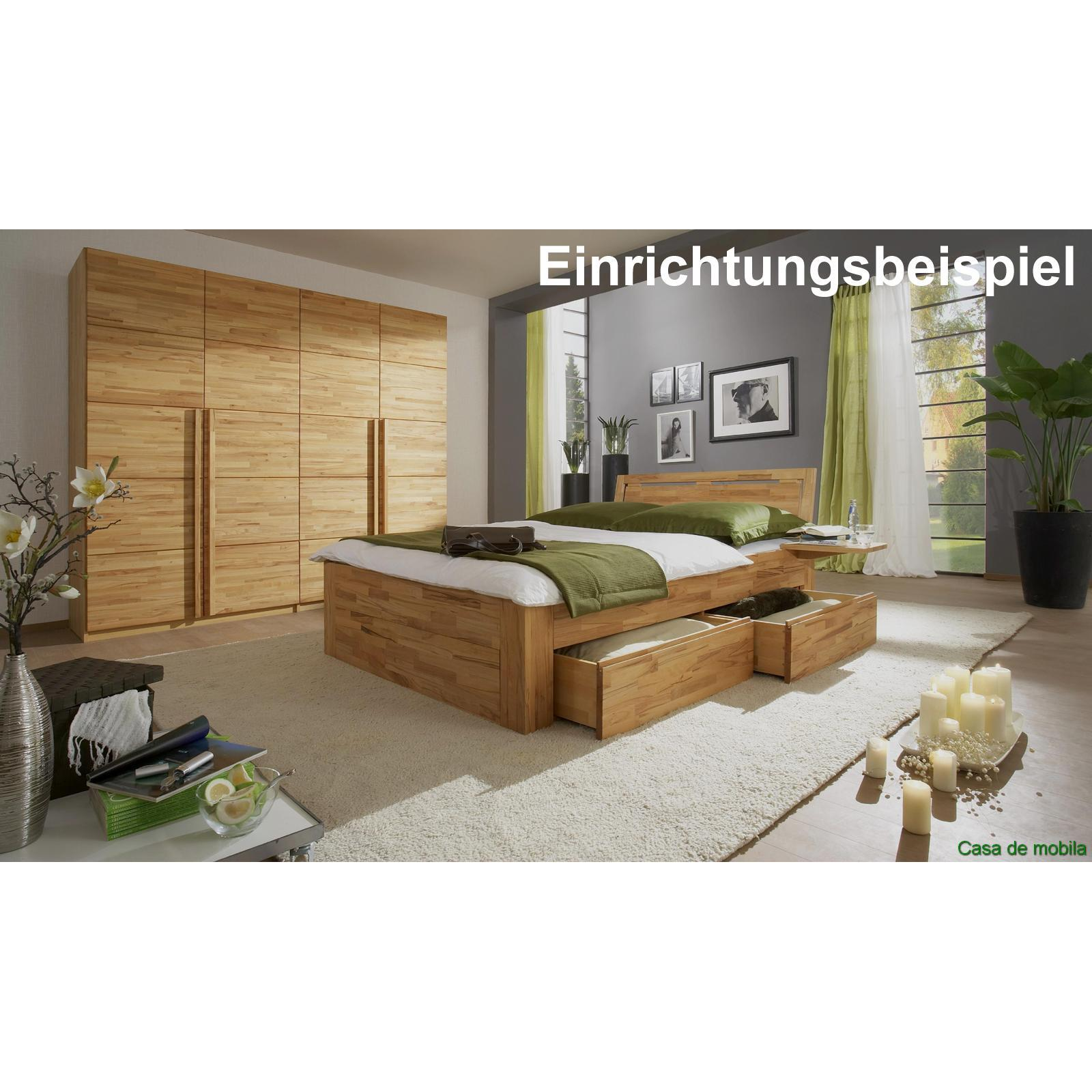 echtholz kleiderschrank eiche massiv natur ge lt front6. Black Bedroom Furniture Sets. Home Design Ideas