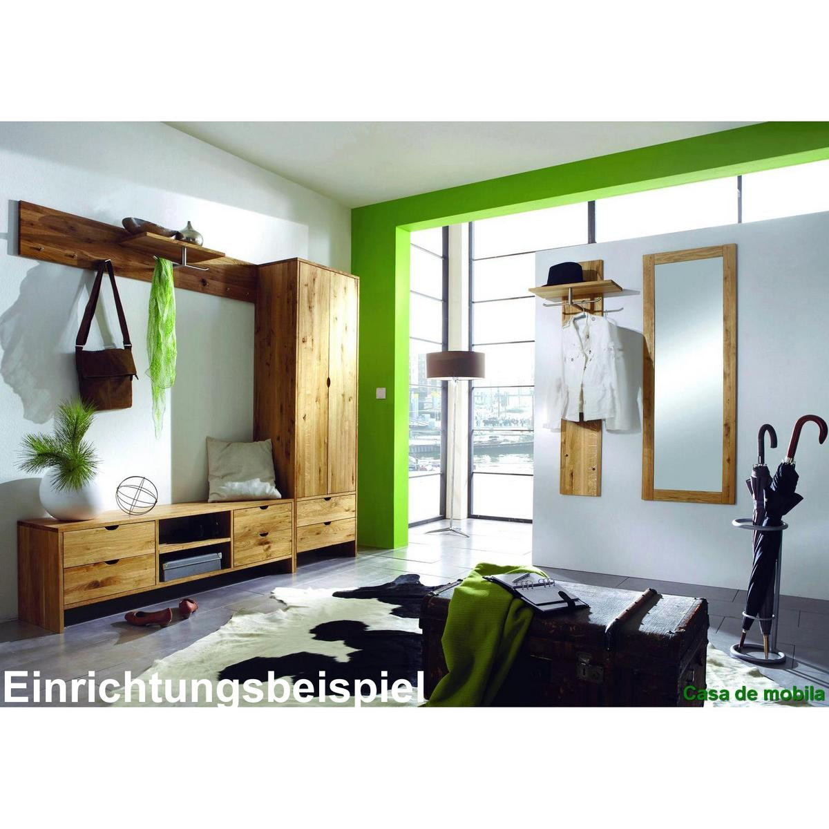 garderobe massiv perfect garderobe kernbuche massiv. Black Bedroom Furniture Sets. Home Design Ideas