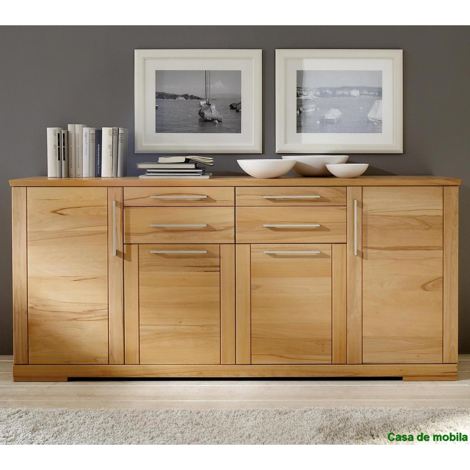 sideboard kernbuche massiv affordable great sideboard kernbuche teilmassiv in with sideboard. Black Bedroom Furniture Sets. Home Design Ideas