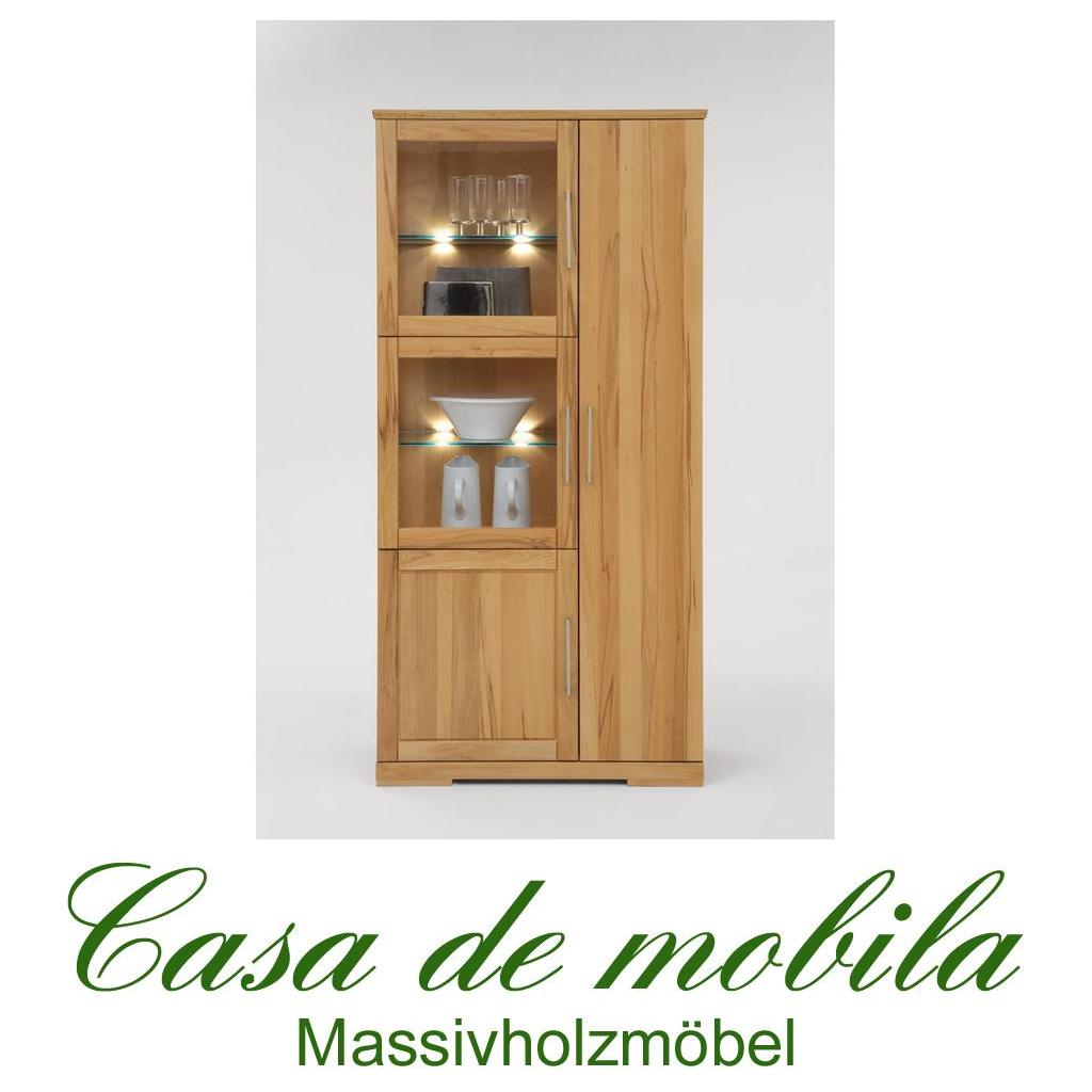 vitrine massivholz free selva vitrine massivholz nussbaum beleuchtbar with vitrine massivholz. Black Bedroom Furniture Sets. Home Design Ideas