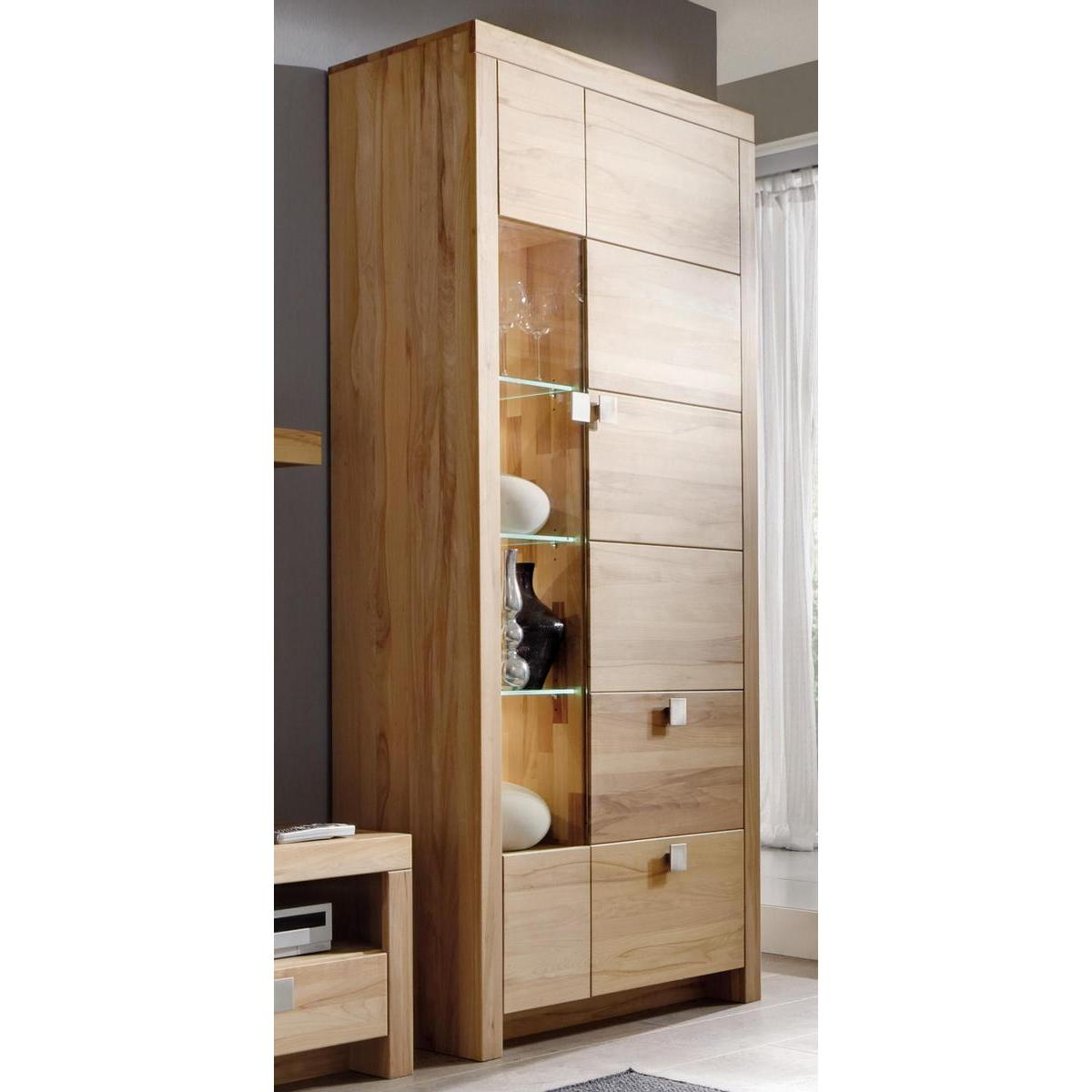 massivholz highboard messina kernbuche massiv ge lt. Black Bedroom Furniture Sets. Home Design Ideas