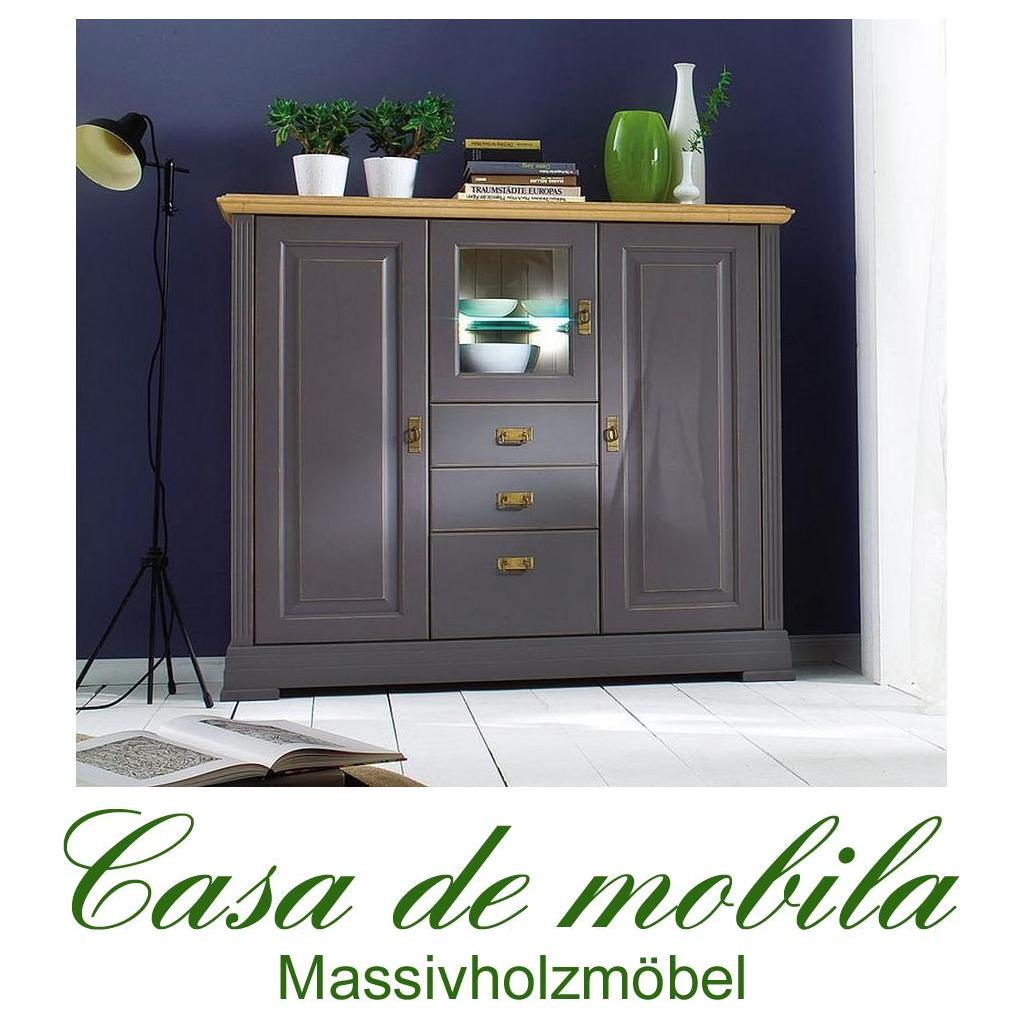 highboard kiefer good highboard kiefer esszimmer kommode goldbraun lackiert honigfarben u bild. Black Bedroom Furniture Sets. Home Design Ideas