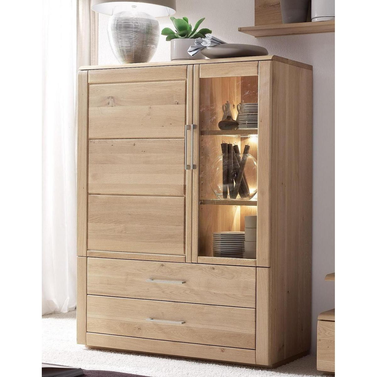 massivholz highboard rechts oxford wildeiche massiv bianco. Black Bedroom Furniture Sets. Home Design Ideas