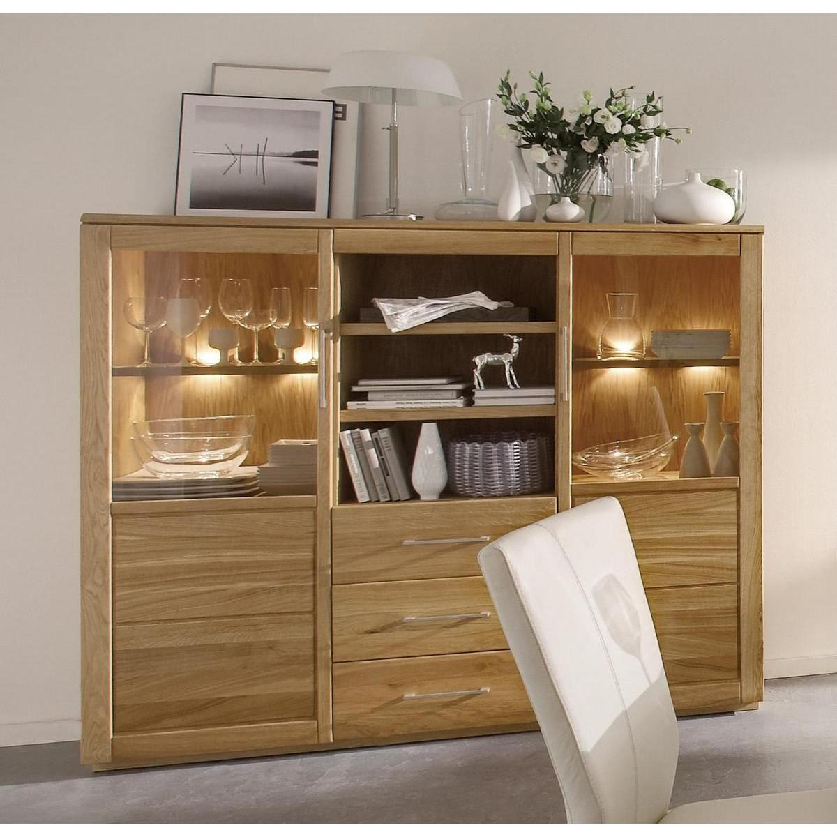 highboard creme fino modern high gloss white door sideboard with drawers with highboard creme. Black Bedroom Furniture Sets. Home Design Ideas