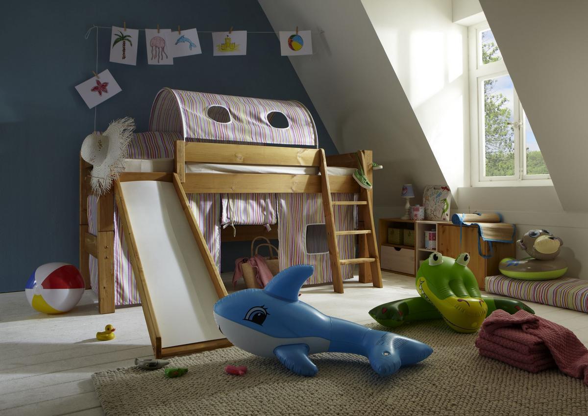 Etagenbett Kiefer Geölt : Hochbett einzelbett etagenbett kiefer massiv gelaugt und geölt