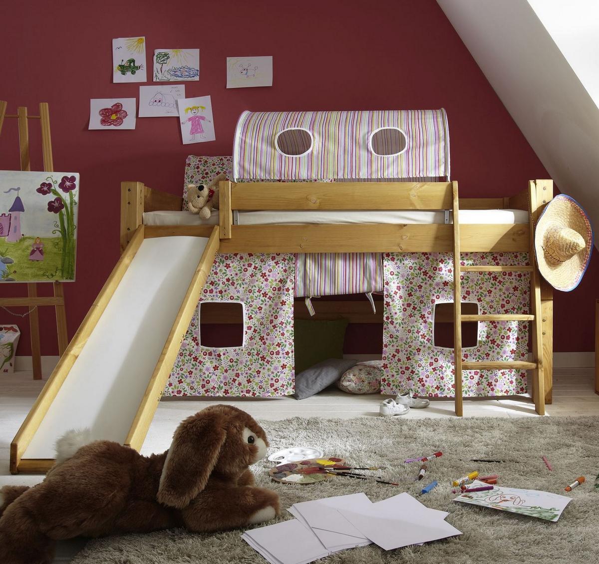 hochbetten mit rutsche hochbett mit rutsche und schaukel. Black Bedroom Furniture Sets. Home Design Ideas